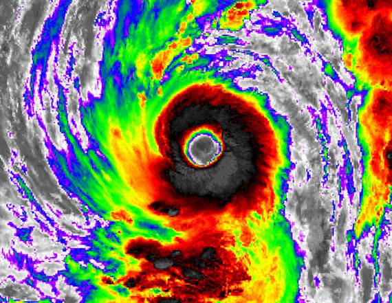 The strongest storm on Earth is heading for Japan