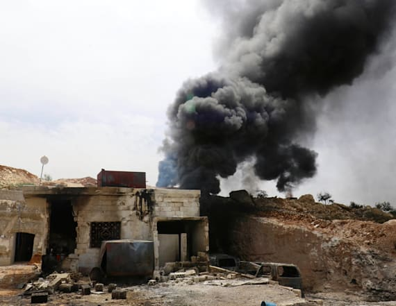 Jets bomb two hospitals in Syria's Idlib