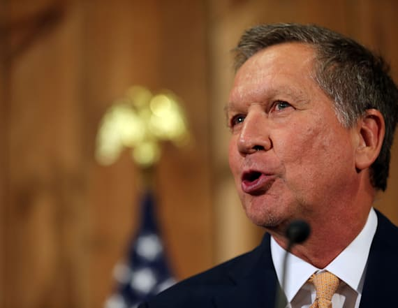 Governor John Kasich comments on future with GOP