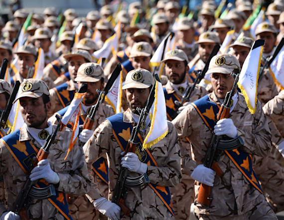 Iran's president blames US after attack on parade