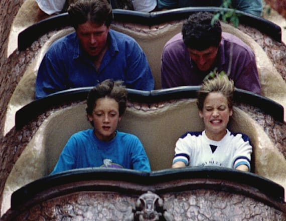 Inside the royals' 1993 trip to Disney World