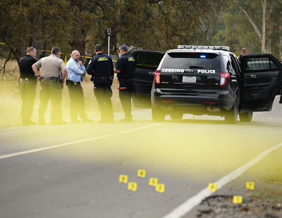 Calif. gunman may have been targeting neighbor's son