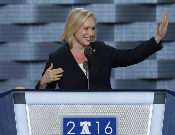 Gillibrand's 2020 odds spike after Trump attacked