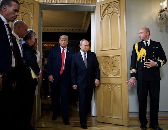 Trump reportedly fawned over Putin after meeting