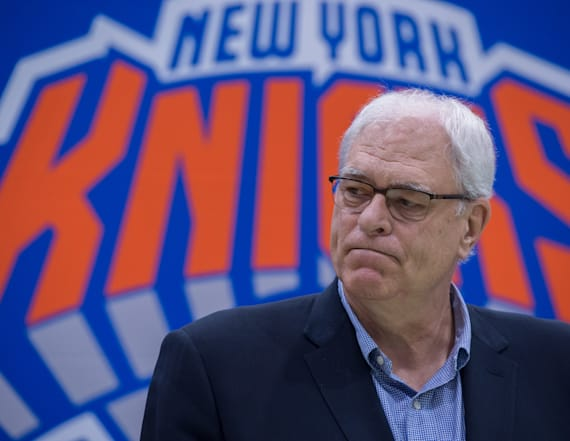 Phil Jackson fell asleep during prospect's workout