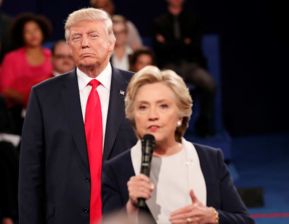 Clinton: Trump's debate stalking made her skin crawl