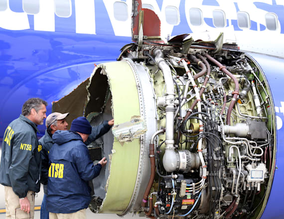 Southwest passenger tried to pull woman 'back in'