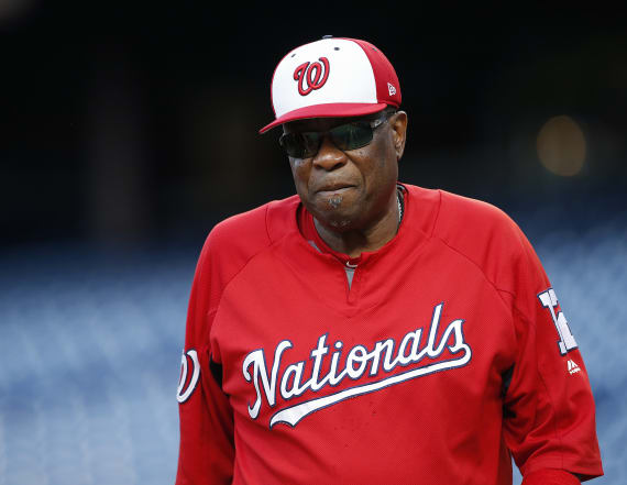 Nationals fire manager Dusty Baker after two seasons