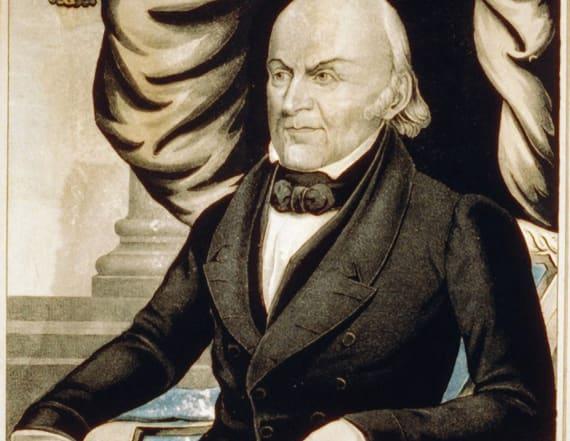 Portrait of President John Adams worth thousands