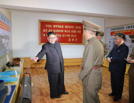 Did N. Korea just leak a photo of missile designs?