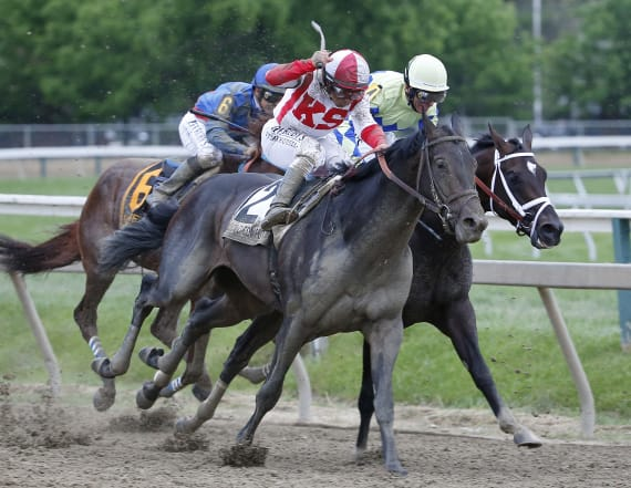 Cloud Computing wins Preakness