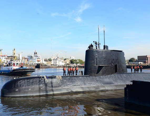 Submarine with 44 on board missing