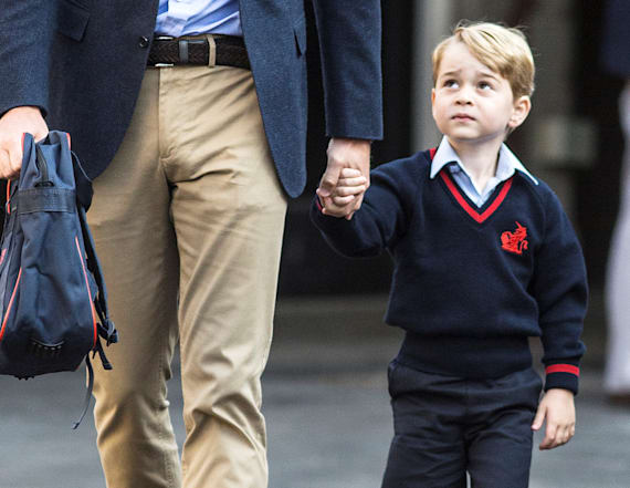 Prince George isn't allowed to have a best friend