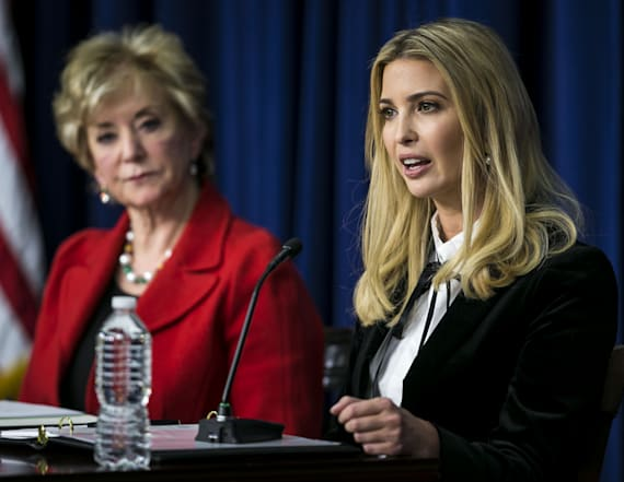 Ivanka takes page out of Melania's style handbook