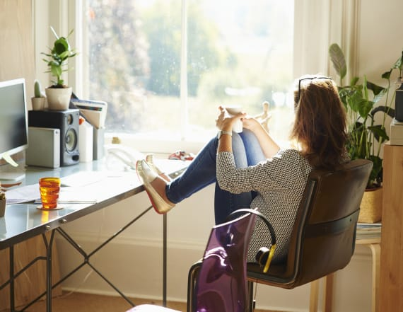 Study: People who work from home are more productive