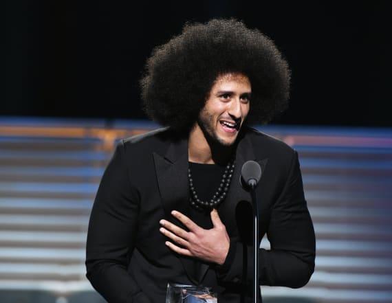 Celebrities to match series of Kaepernick donations