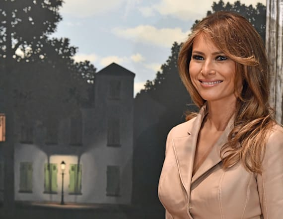 Belgium shows Melania the surreal