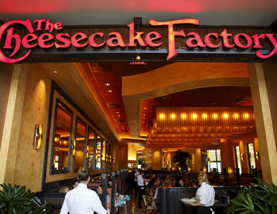 Shocking calorie count of Cheesecake Factory burrito