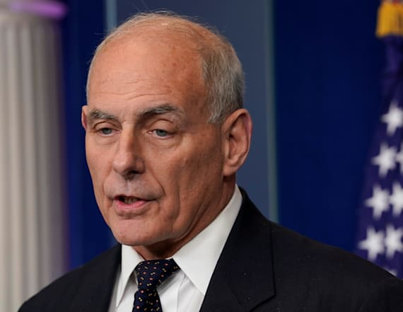 Kelly defends Trump's words to soldier's widow