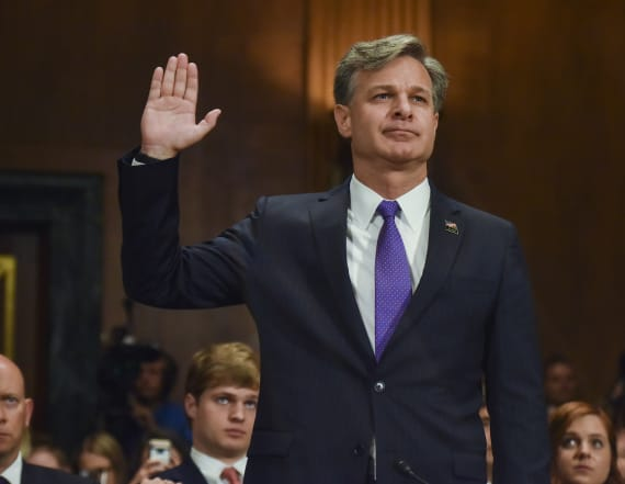 Senate panel approves Wray's as FBI director