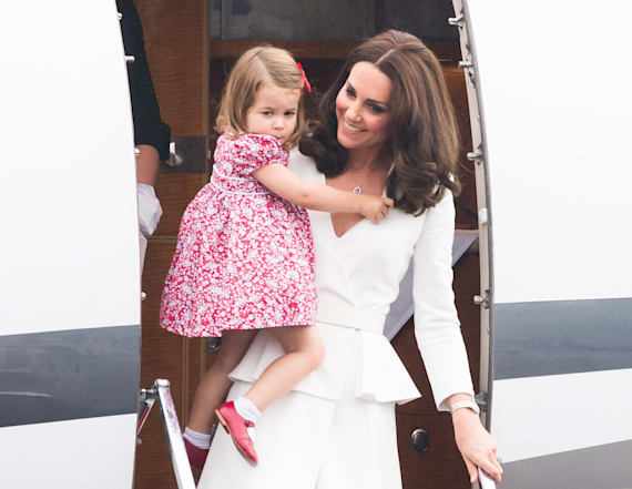 Everyone's talking about Princess Charlotte's shoes