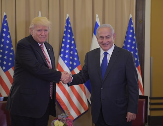 Trump: I never said 'Israel' to Russians