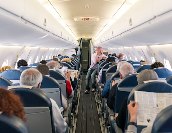 You should never do this during takeoff and landing