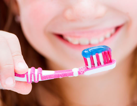 The hidden danger of using your kid's toothpaste