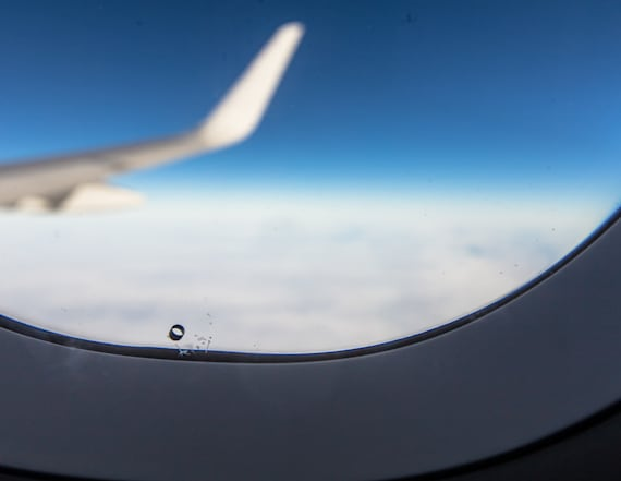 Why there are tiny holes in the window of planes