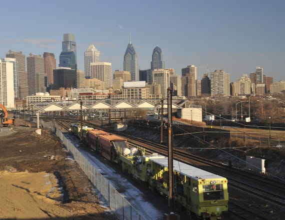 Train collision injures 42 near Philadelphia