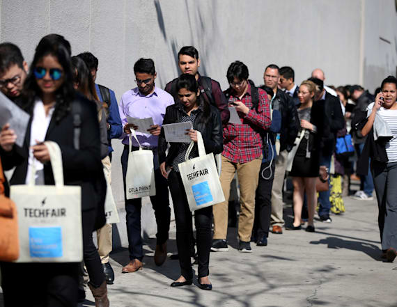 US job growth surged in February