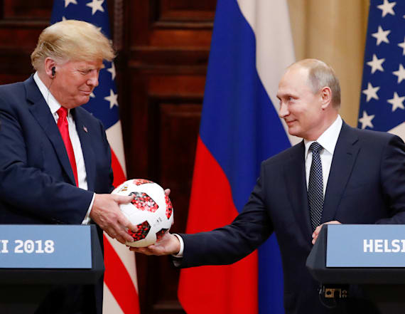 Putin may have given Trump bugged gift