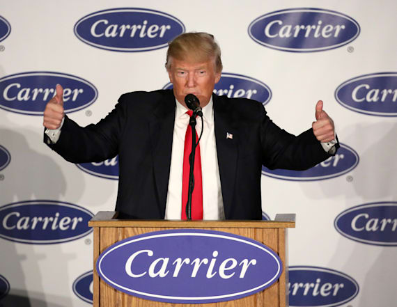 Ex-Carrier employee speaks out on Trump