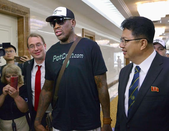 Rodman breaks down in interview about Kim Jong Un