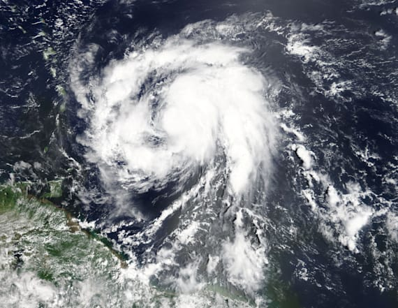 Hurricane Maria now a Category 5 storm in Caribbean
