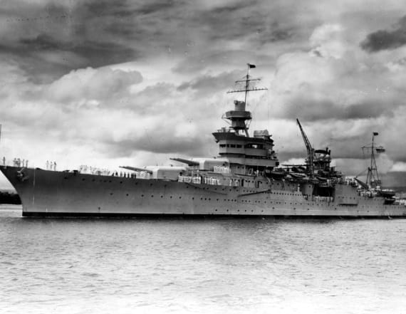 Researchers discover WWII-era USS Indianapolis