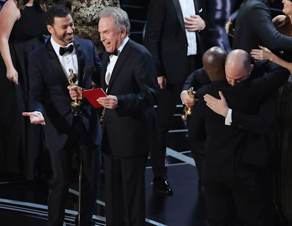 Jimmy Kimmel talks epic Oscar Best Picture flub