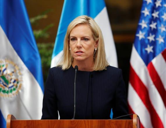 Nielsen denies evidence of Russia helping Trump win