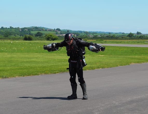 Real-life 'Iron Man' has high hopes for jet suit