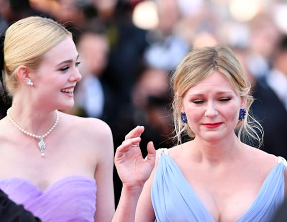Kirsten Dunst bursts into tears at Cannes
