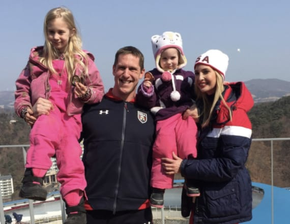 US bobsledder defends photo of daughters with Ivanka
