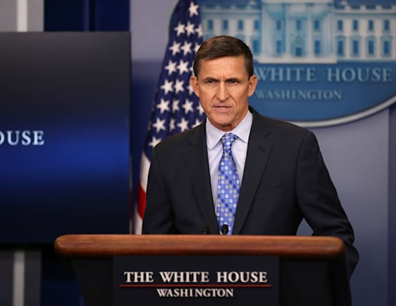 Flynn 'lied to investigators' about Russia trip
