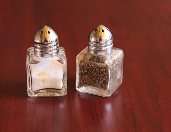 Stay away from the pepper shaker at restaurants