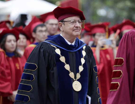 USC president to step down in wake of scandal