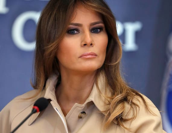 Melania Trump makes statement on family separations