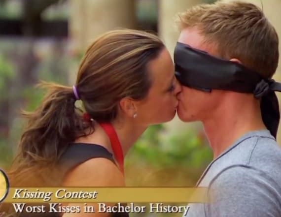 Watch: Worst kisses in 'Bachelor' history