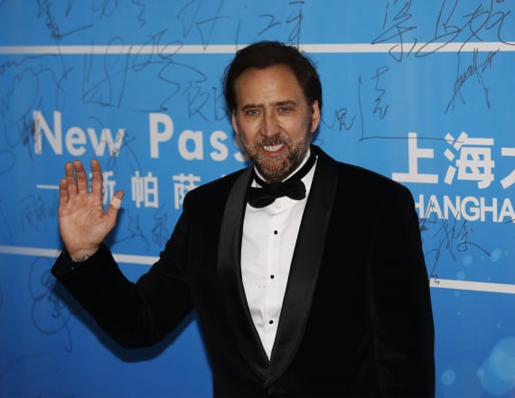 Nicolas Cage slammed over viral photo