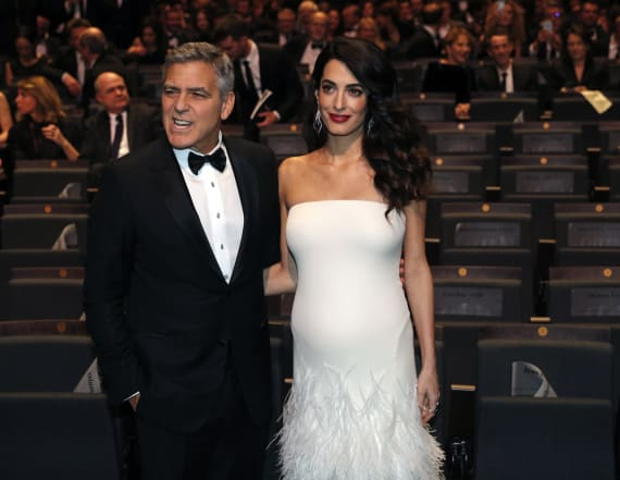 Source reveals big update on Amal's pregnancy