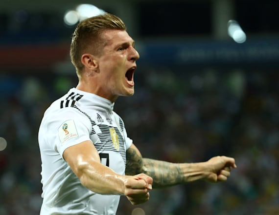 Germany posts dramatic win over Sweden