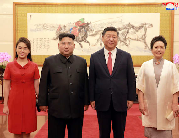 North Korea, China discuss 'true peace'
